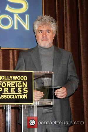 Pedro Almodovar and Beverly Hilton Hotel