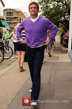 Alex Reid Celebrities arrive for the filming of the ITV2 show 'Celebrity Juice' London, England - 31.08.11