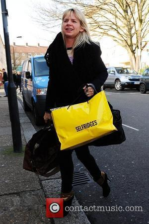 Zoe Ball  arrives for the filming of the ITV2 show 'Celebrity Juice'  London, England - 02.03.11