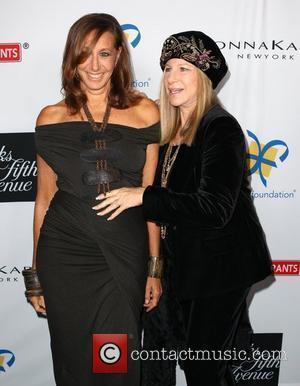 Donna Karan and Barbra Streisand Dream Foundation honors Donna Karan at the 10th Annual Celebration of Dreams Santa Barbara, California...