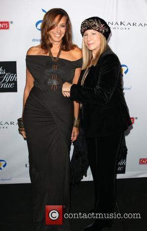 Donna Karan and Barbra Streisand