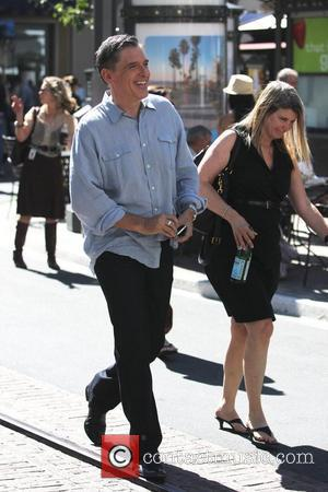 Craig Ferguson at The Grove to film an appearance for the entertainment television news programme 'Extra'  Los Angeles, California...