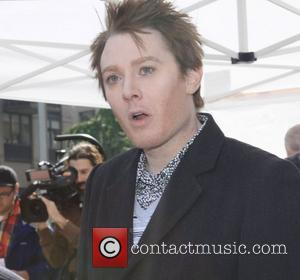 Clay Aiken  Guys v Gals - Celebrity Apprentice filming on location in New York City. Each team tried to...