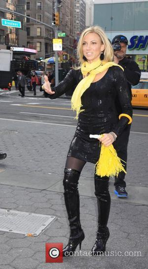 Debbie Gibson  Guys v Gals - Celebrity Apprentice filming on location in New York City. Each team tried to...