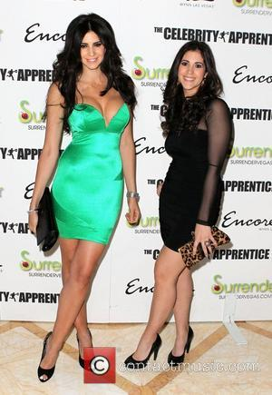 Hope Dworaczyk and Brittany Stars of 'The Celebrity Apprentice' celebrate the season premiere with cast party at Surrender Nightclub at...