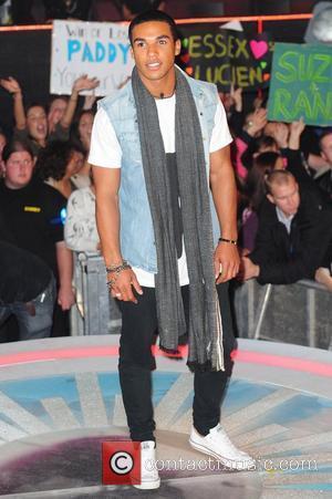 Lucien Laviscount 'Celebrity Big Brother' live final at Elstree Studios Borehamwood, England - 08.09.11