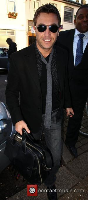 Gino D'Acampo Celebrities arrives for the filming of the ITV2 show 'Celebrity Juice'  London, England - 16.02.11