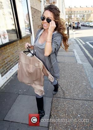 Adele Silva  Celebrities arriving at the studio to film the ITV2 show 'Celebrity Juice'  London, England - 23.03.11