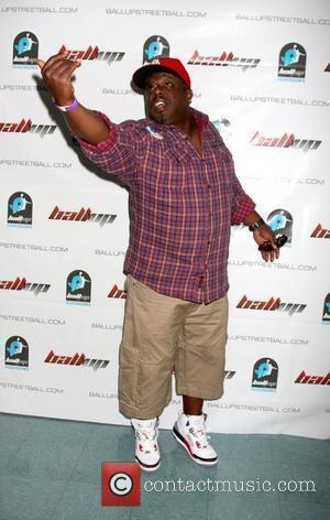 Cedric The Entertainer The 1st Annual Ball Up Celebrity Streetball Game at Cal State Northridge's Matadome Stadium Los Angeles, California...