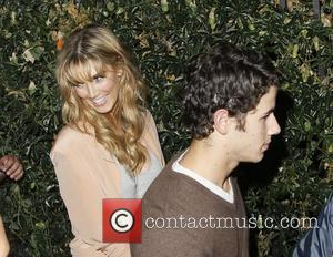 Joe Jonas and Delta Goodrem