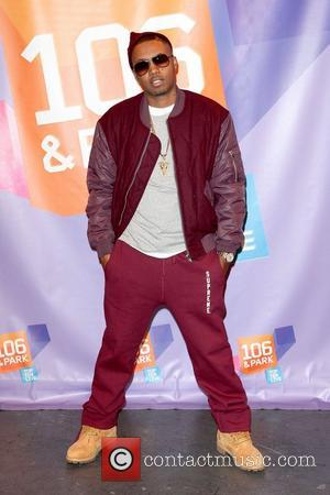 Nas aka Nasir bin Olu Dara Jones appears on BET's '106 & Park' New York City, USA - 24.10.11