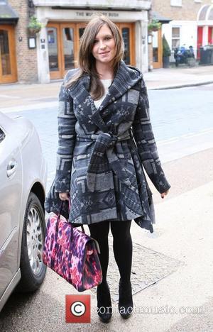 Brooke Kinsella at the ITV studios London, England - 02.02.11