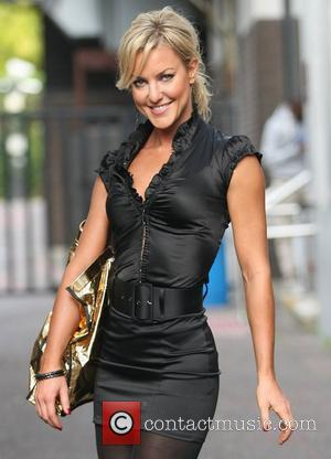 Natalie Lowe at the ITV studios London, England - 05.10.11