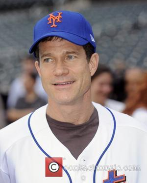 Dylan Walsh 'Without a Trace' stars at Citi Field to watch the New York Mets game vs Washington Nationals Queens,...