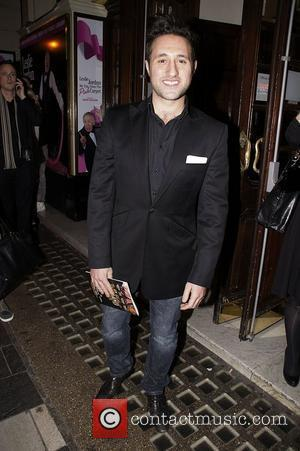 Antony Costa Press night for 'My Trip Down The Pink Carpet' at the Apollo Theatre - Departures London, England -...
