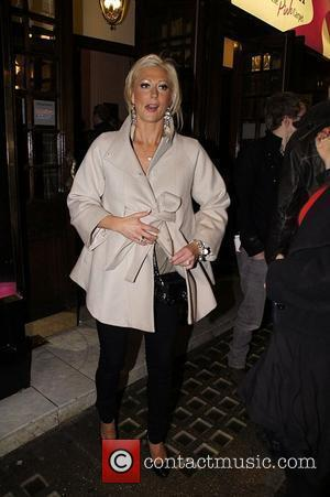 Faye Tozer Press night for 'My Trip Down The Pink Carpet' at the Apollo Theatre - Departures London, England -...