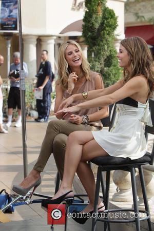 Heidi Klum and Maria Menounos