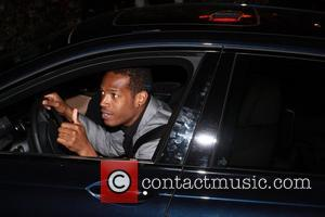 Marlon Wayans Celebrities arriving a for a private pre Oscar party at the Chateau Marmont in West Hollywood Los Angeles,...