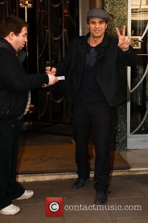 Mark Ruffalo Celebrities outside Claridges hotel London, England - 14.02.11