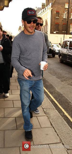 Stephen Dorff  Celebrities outside Claridges hotel London, England - 14.02.11