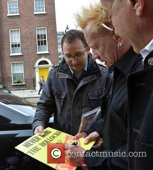 John Lydon aka Johnny Rotten out and about iand signing autographs Dublin, Ireland – 09.06.11