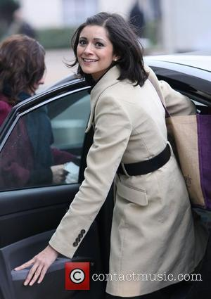 Lucy Verasamy at the ITV studios London, England - 03.03.11
