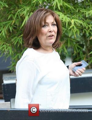 Lynda Bellingham at the ITV studios London, England - 04.05.11
