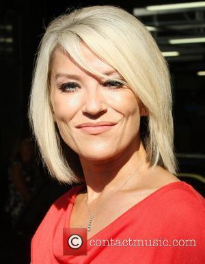 Zoe Lucker leaves the ITV studios London, England - 30.09.11
