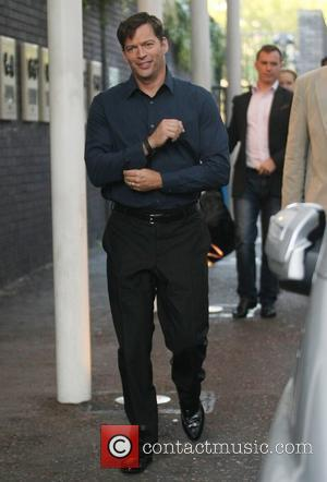 Harry Connick Jr. At the ITV studios London, England - 30.09.11