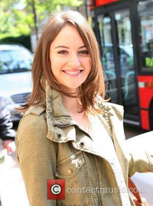 Paula Lane at the ITV studios London, England - 04.05.11
