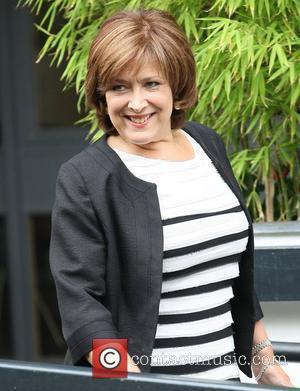 Lynda Bellingham at the ITV studios London, England - 14.07.11