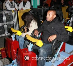 Logan Browning and Darnell Appling at Knott's Berry Farm at Buena Park Los Angeles, California, USA - 20.10.11