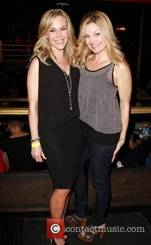 Julie Benz and Clare Kramer