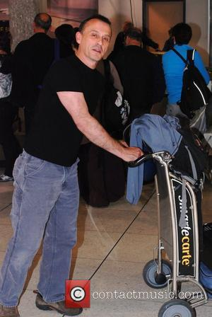 Robert Knepper arriving at LAX airport Los Angeles, California, USA - 02.05.11