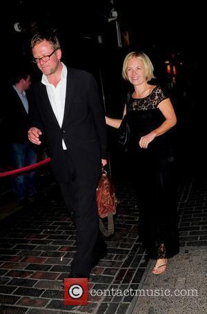 Mariella Frostrup and husband Jason McCue celebrities outside Box in London London, England - 13.06.11