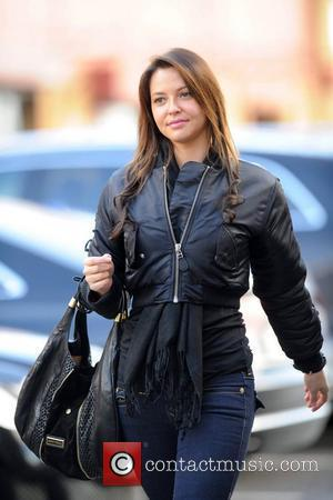 Daniella Martins arrives at Old Trafford to watch the Premier League derby match between Manchester United and Manchester City. Manchester,...