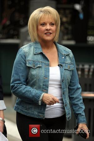 Nancy Grace at The Grove to film an appearance for the entertainment television news programme 'Extra' Los Angeles, California -...