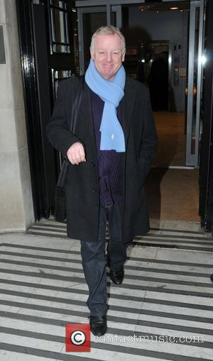 Les Dennis Celebrities outside the BBC Radio Two studios. London, England - 07.02.11