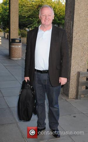 Les Dennis outside RTE studios for an appearance on 'The Late Late Show' Dublin, Ireland - 20.05.11
