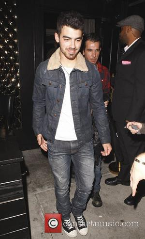 Joe Jonas leaving Trousdale nightclub in West Hollywood Los Angeles, California,USA - 08.03.11