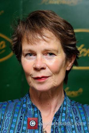 Celia Imrie signs copies of her new memoirs, The Happy Hoofer published today London, England - 14.04.11