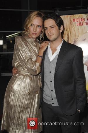 Uma Thurman, Michael Angarano  Los Angeles Premiere of Ceremony held at the ArcLight Hollywood Theatre Hollywood, California - 22.03.11