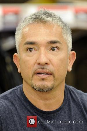 Cesar Millan  autograph session at a Canadian Tire store as part of the launch promotion of his new 'Dog...