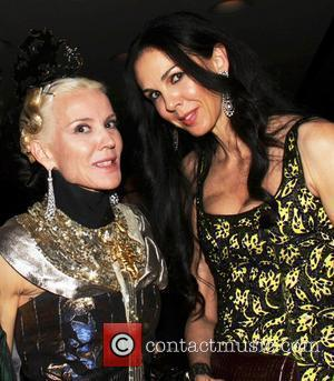 Daphne Guinness and L'Wren Scott The 2011 CFDA Fashion Awards at Alice Tully Hall in The Lincoln Center - After...