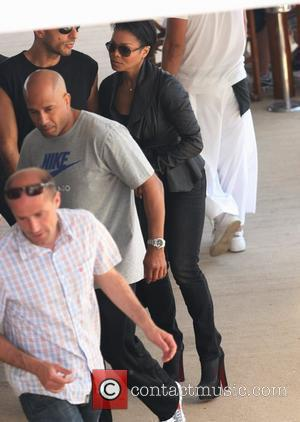 Janet Jackson and boyfriend Wissam Al Mana out and about during the 2011 Cannes International Film Festival - Day 10...