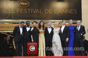 Nansun Shi, Jude Law, Olivier Assayas, Robert De Niro and Uma Thurman