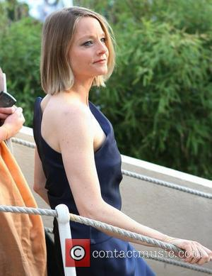 Jodie Foster on the French TV show 'Le Grand Journal' during 2011 Cannes International Film Festival - Day 7 Cannes,...