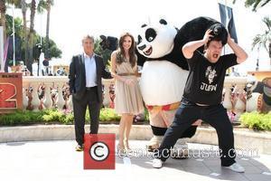 Dustin Hoffman, Angelina Jolie and Jack Black