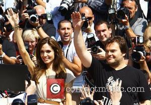 Angelina Jolie and Jack Black