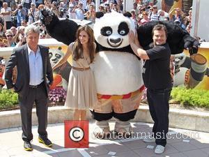 Angelina Jolie, Dustin Hoffman and Jack Black